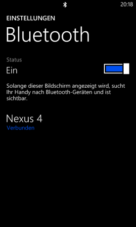 Transfer my Data App für Windows Phone 8
