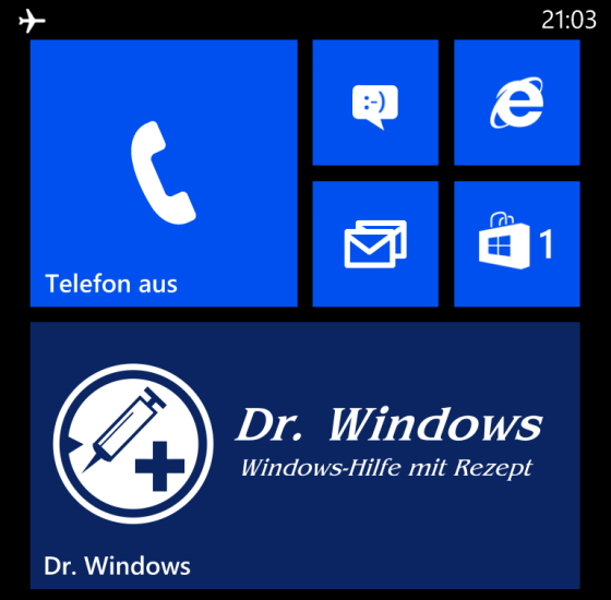 Die offizielle DrWindows App für Windows Phone
