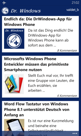 dr windows app