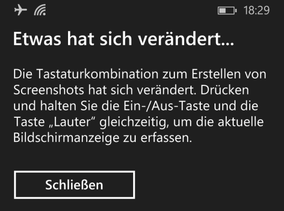 Screenshots mit Windows Phone 8.1 erstellen