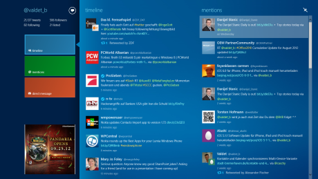 MetroTwit App für Windows 8