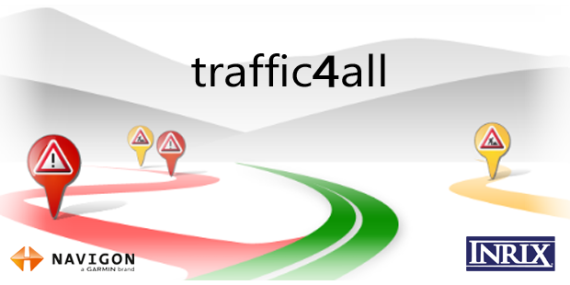 NAVIGON traffic4all für Windows 8 und RT