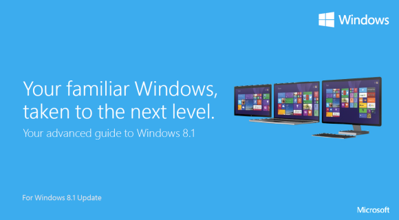 Windows 8.1 Update Product Guide, Quick Guide for Business und Power User Guide for Business